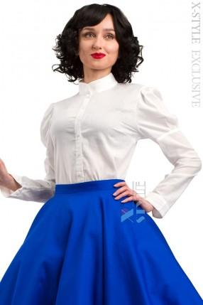 Винтажная белая блуза X-Style