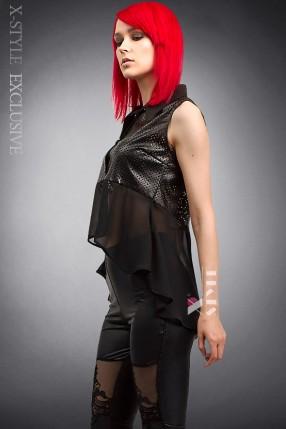 Блузка со шлейфом X177