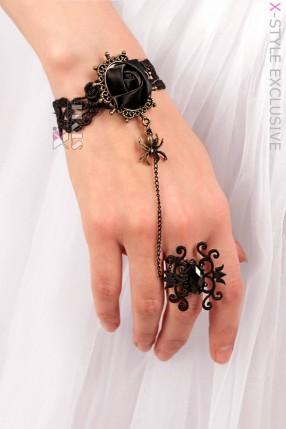 Браслет с кольцом X0184