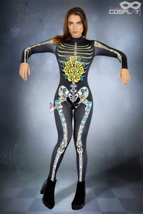 Костюм Skeleton De Muertos CC091
