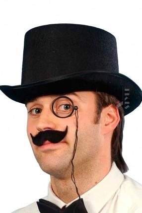 Мужская шляпа-цилиндр