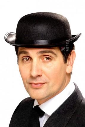 Шляпа-котелок черная Cosplay Couture