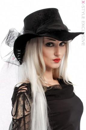 Шляпа Lady in black XA2056