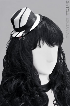Шляпка в полоску Xstyle accessories