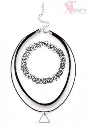 Ожерелья-чокеры (комплект 2 шт)