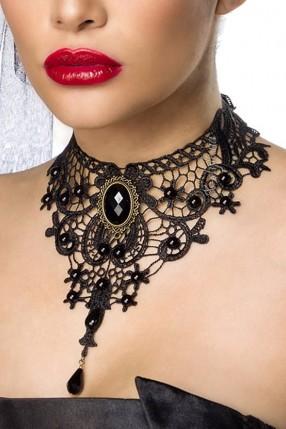 Кружевное ожерелье-чокер A6153