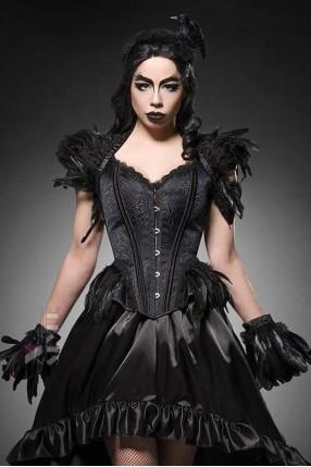 Корсет Gothic Crow Lady