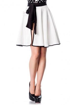 Белая пляжная юбка Belsira