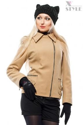 Зимняя женская куртка-косуха X-Style