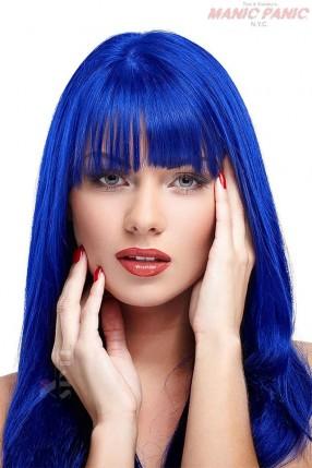 Синяя усиленная краска для волос Shocking Blue