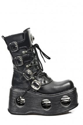 Ботинки с пружинами в платформе