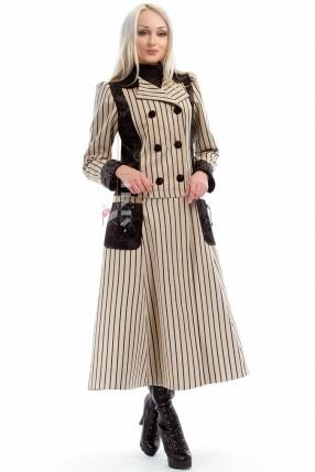 Демисезонное пальто женское Vintage