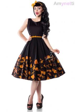 Платье Pin-Up с цветочным узором Amynetti