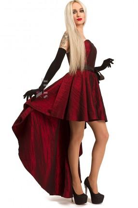 Платье со шлейфом XT5274