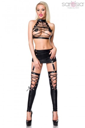 Сексуальный комплект со шнуровками S199