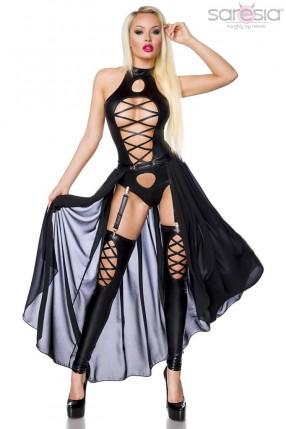 Сексуальный комплект с юбочкой Saresia