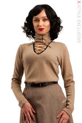 Женский джемпер из натуральной шерсти X1212