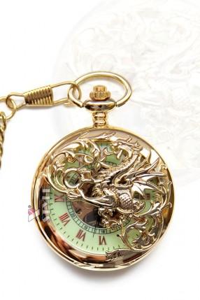 """Карманные часы """"Золотой дракон"""""""