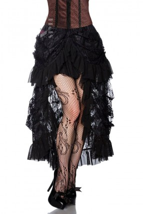 Кружевная юбка со шлейфом X122
