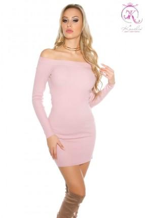 Облегающее вязаное платье KouCla