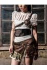 Мини-юбка Steampunk (107098) - материал
