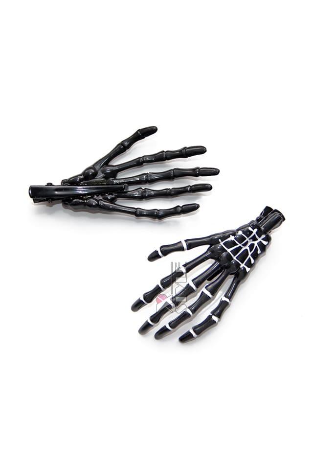 Заколки Skeleton (пара) CC1130