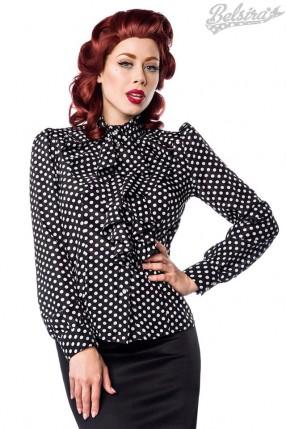 Блузка в горошек Belsira