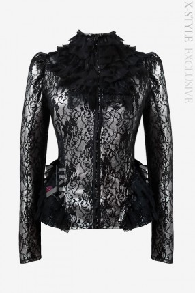 Ажурная блузка в стиле Ретро X-Style