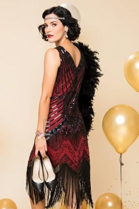 Ретро-платье в стиле 20-х X5299