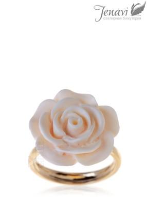 Позолоченное кольцо 708192