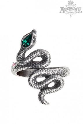 Оловянное кольцо до средины пальца AG228