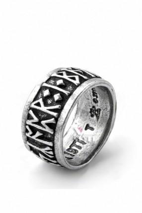 Кольцо с рунами (ручная работа)