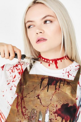 Кровавый чокер XT Jewelry