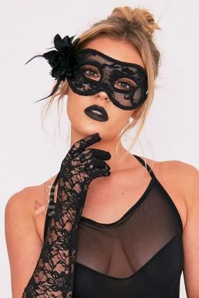 Карнавальная ажурная маска CC1065