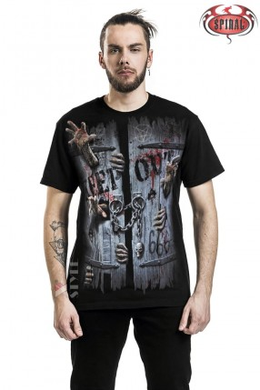 Мужская футболка Zombies Unleashed Spiral