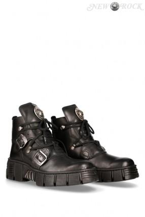 Ботинки кожаные Wall 9881 Luxor