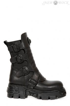 Ботинки черные M373X-S27