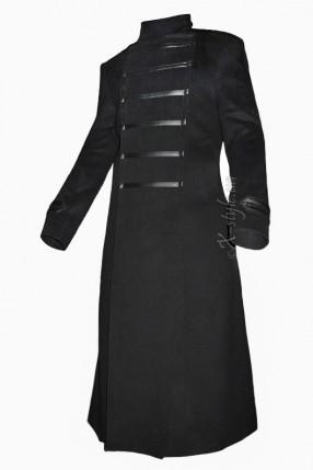 Длинное мужское пальто