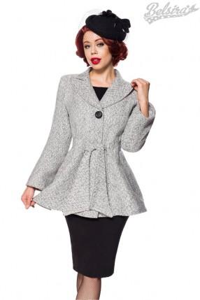 Винтажное пальто с поясом Belsira