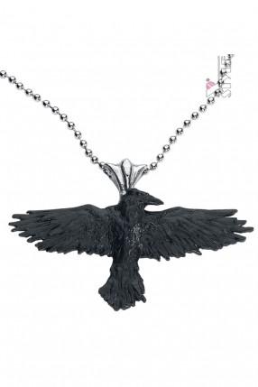 Кулон Black Raven (ручная работа)