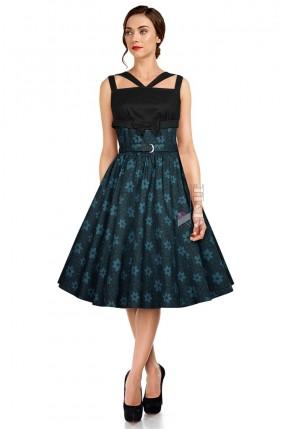 Элегантное платье в стиле Ретро с поясом X461