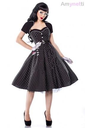Платье Rockabilly с болеро и поясом