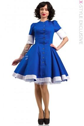 Платье в стиле Ретро X5350