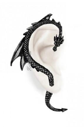 Серьга The Dragons Lure Black
