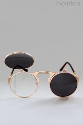 Круглые очки с откидными линзами IN62g