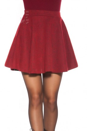 Трикотажная юбка с эластичным поясом KM7196
