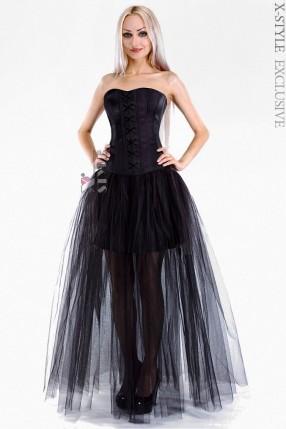 Длинная юбка-пачка