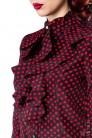 Блузка в стиле ретро Belsira (101158) - 3