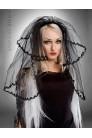 Черная фата невесты (504211) - цена