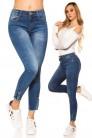 Узкие джинсы с декором внизу MR088 (108088) - цена